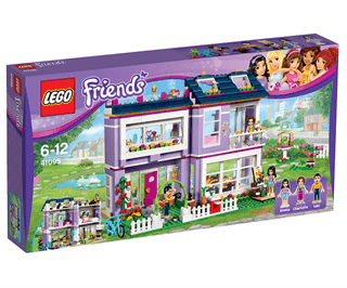 Fin LEGO Friends 41095 Emmas hus - Sammenlign priser FS-66