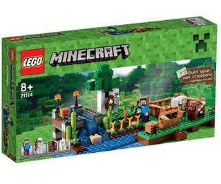 LEGO Minecraft 21114 Farmen - Sammenlign priser bfcfcc1d83a53