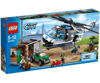 Lego City 60046 Helikopterovervågning Sammenlign Priser
