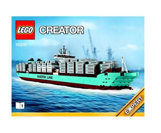 LEGO 10241 Maersk line skib