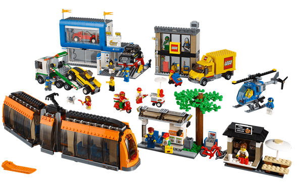 Lego City Tilbud Legeprisdk